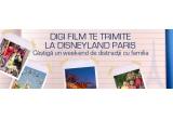 un week-end la Disneyland Paris, 5 x LCD Samsung, 10 x Sistem Home Cinema, 200 x tricou Digi Film, 2000 x  magnet de frigider inscriptionat cu Digi Film