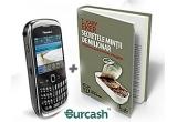 un pachet cu telefon BlackBerry + 10 carti de educatie financiara