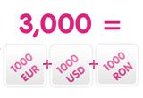 un premiu in valoare de 1000 EURO + 1000 USD + 1000 RON<br type=&quot;_moz&quot; />