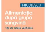"""2 x cartile """"Alimentatia dupa grupa sangvina"""" + """"Terapia prin vitamine"""", editura Niculescu"""
