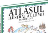 """4 x """"Atlasul ilustrat al lumii pentru copii"""",autor Alison Cooper, Editura House of Guides"""