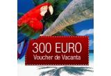 un voucher de turism de 300 Euro