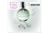un set Avon cu parfum + colier placat cu argint + cercei placati cu argint