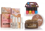 1 x set de manichiura frantuzeasca, 1 x set de 4 mini lacuri colorate Hot Shots ORLY + exfoliant