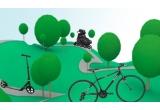 1 x bicicleta, 1 x trotineta, 1 x pereche de role, 5 x lanterna cu dinam