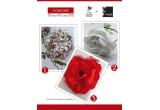 1 x accesoriu Chrystanthemum, 1 x accesoriu Magnolia, 1 x accesoriu Rose