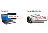 1 x Netbook, 1 x camera video senzor