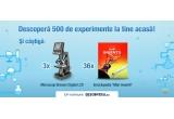 "3 x microscop Bresser Digital LCD 40-1600x, 36 x enciclopedie ""Mari inventii ale umanitatii"""