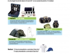 1 x set de picnic, 1 x set outdoor, 1 x cort pentru trei persoane, 10 x tricou + sapca personalizate cu semnatura Dacia Eco 2