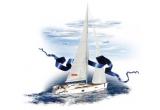 1 x calatorie alaturi de 7 dintre prietenii tai pe un yacht de lux