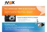 1 x aparat foto compact Nikon Coolpix L22 + un set de accesorii