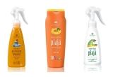 6 x pachet cu produse de plaja Cosmetic Plant (emulsie pentru accelerarea bronzarii, emulsie pentru plaja rezistenta la apa pentru copii, emulsie dupa plaja)