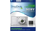 1 x camera digitala Sony DSC-W530 Silver