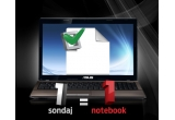 1 x notebook ultraportabil Asus K53