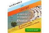 1 x sejur in insula Rhodos pentru 2 persoane