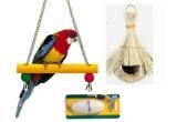 1 x set de accesorii pentru pasarea ta