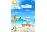 300 x kit de plaja Gerovital Sun (palarie de plaja + rogojina de plaja + geanta de plaja)