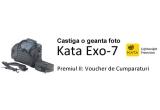 1 x geanta foto Kata Exo-7, 1 x voucher de cumparaturi