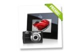 1 x aparat foto digital Nikon Coolpix L22, 2 x rama foto digitala Serioux SmartArt 71PF