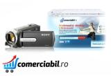 1 x magazin online la cheie pe platforma comerciabil.ro SAU servicii de imbunatatire design magazin online existent SAU realizarea unui web site de prezentare, 1 x camera video Sony DCR-SX15