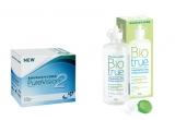 5 x pereche de lentile Pure Vision2 + solutie Biotrue 120ml