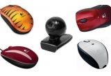 4 x set Logitech (mouse + camera web)