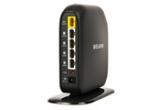 1 x router wireless N Belkin Surf+ si un adaptor wireless N