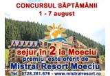1 x sejur de 7 zile pentru 2 persoane la Mistral Resort Moeciu