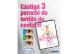 3 x pereche de lentile de contact colorate