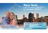 1 x vacanta de revelion la New York pentru 2 persoane, 50 x perna Dormeo Memosan Pillow, 30 x set Dormeo Sanja, 20 x set de pat Dormeo Iris