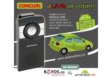 1 x car kit Plantronics K100, vouchere de 3% reducere la cumpararea unui telefon Android de pe koyos.ro.