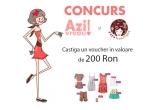 un voucher de 200 Ron pentru articolele de pe ZazaBoutique.ro(exceptand sectiunea By Designer)
