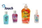 4 x set de produse de la Touch(1 gel Classic + 1 spray Violet + 1 Classic + 1 sapun lichid Splash)