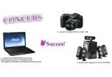 1 x aparat foto digital Nikon Coolpix, 1 x laptop Asus K52JT, 3 x Sistem audio Logitech 5.1 X-530