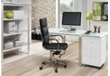 1 x super birou + un scaun ergonomic (birou cu 4 sertare si 1 etajera laterala Sistem + Scaun ergonomic Ecos)