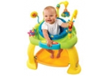 2 x Bounce Bounce Baby - Activity Zone - centr de activitati, 2 x Tricicleta Smart-Trike Bonbon 3-in-1 multicolor, 5 x ocul Diset - Electron Junior, 50 x invitatie la BABY EXPO