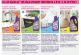 3 x actiune de curatenie a casei si un set de produse Cillit Bang