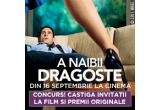 "3 x invitatie dubla la filmul ""Crazy Stupid Love"""