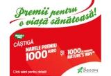 500 x produse Alive!™ (fara fier), 500 x  produse SystemWell® Ultimate Immunity, 2 x 1000 euro
