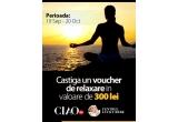1 x voucher de relaxare in valoare de 300 RON