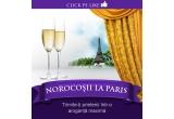 1 x week-end VIP la Paris pentru 2 persoane + 1000 euro