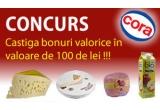 60 x voucher Cora de 100 RON