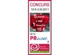 5 x voucher in valoare de 15 euro pentru achizitia de butasi de trandafiri