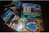 5 x cana Paravion.ro, 5 x DVD cu diferite locuri turistice, 1 x album despre cele mai frumoase parcuri nationale din lume
