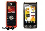 1 x telefon LG KP502, 1 x telefon Motorola W230