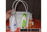 1 x geanta de la Garnier + un set de cosmetice