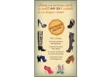 1 x pereche de balerini de la Smiling Shoes, 1 x pereche de pantofi de la Pixie Shoes, 1 x pereche de cizme casual de pa Papucei.ro, 1 x voucher de 350 de lei de la Lust of Creation