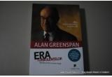 """1 x cartea despre economie """"Era turbulentelor"""" de fostul guvernator al Bancii Centrale Americane, Alan Greenspan, 1 x magnet de frigider"""