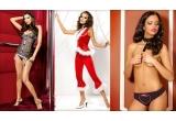 1 x Lenjerie intima Chantal set, 1 x Costum de Craciunita Santa Lady, 1 x Chilot Hearts