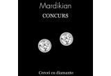 1 x pereche de cercei cu diamante oferiti de MARDIKIAN